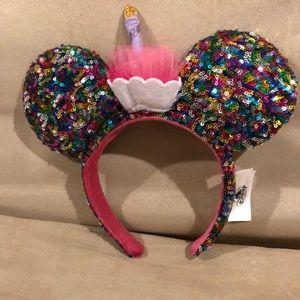 Disney birthday headband